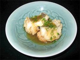 鱈の揚げ飯