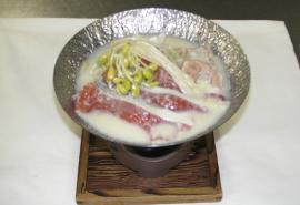秋鮭呉汁鍋