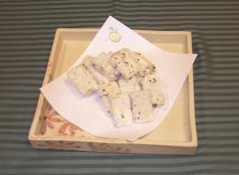 帆立チーズ豆腐 煎餅焼